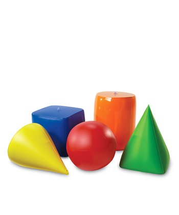 Inflatable Geometric Shapes