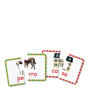 Spanish Syllables Puzzle Cards