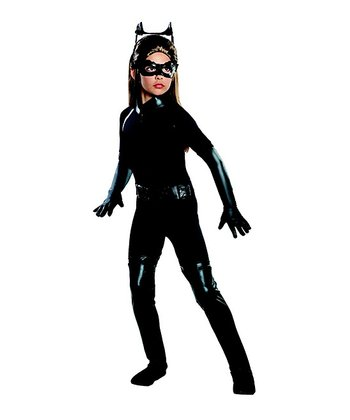 Deluxe Catwoman Dress-Up Set - Girls