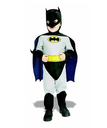 Gray Classic Batman Dress-Up Outfit - Infant & Toddler