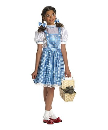 Deluxe Dorothy Sequin Dress-Up Outfit - Girls