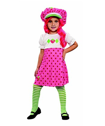 Pink Strawberry Shortcake Dress-Up Outfit - Toddler