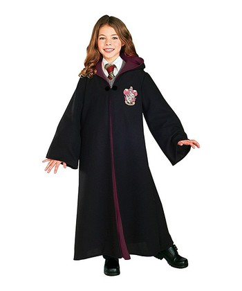 Black Gryffindor Deluxe Robe - Kids