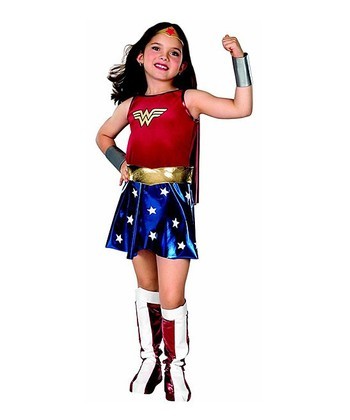 Wonder Woman Dress-Up Outfit - Girls