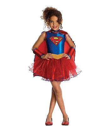 Supergirl Tutu Dress-Up Set - Girls