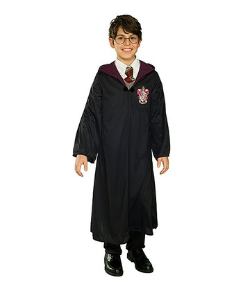 Black Harry Potter Robe - Boys