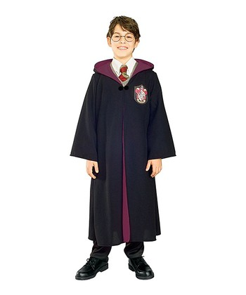 Black Deluxe Harry Potter Robe - Kids
