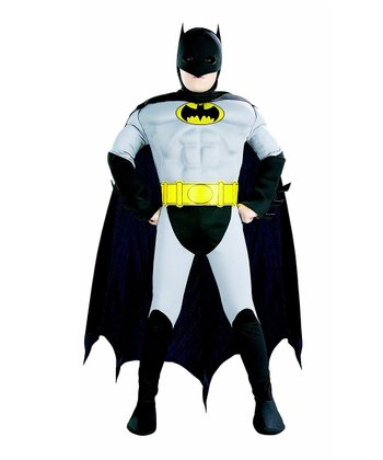 Classic Muscular Batman Dress-Up Outfit - Toddler & Boys