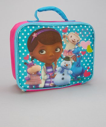 Aqua Doc McStuffins Lunch Tote