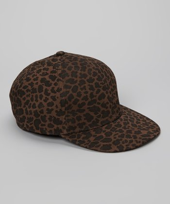 Brown Leopard Baseball Cap