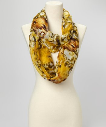 Natural Tiger Scarf