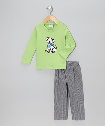 Green Dalmatian Tee & Pants - Infant, Toddler & Boys
