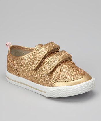 Gold Misty Sparkle Shoe