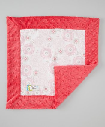 Pink Willow Minky Security Blanket