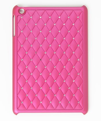 Magenta Diamond Bling iPad Mini Case