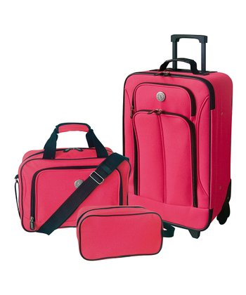Neon Pink Travel Set