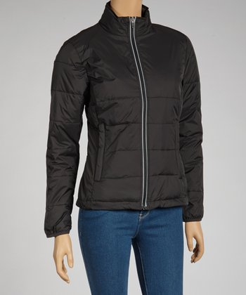 Black Durango Puffer Coat