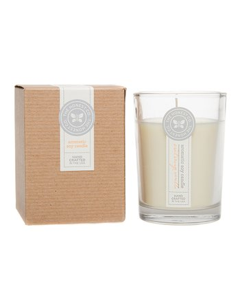Sweet Orange Vanilla Aromatic Soy Candle