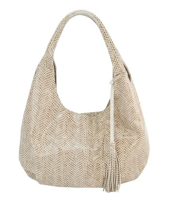 Bone Mamba Leather Hobo