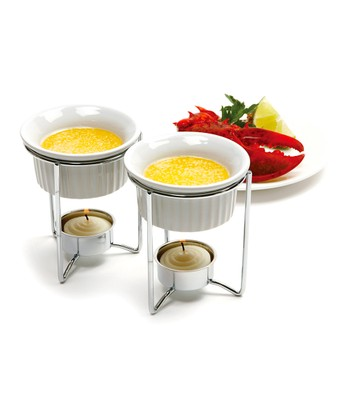 Ceramic Butter Warmer - Set of Two