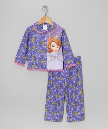 Lavender Sofia the First Pajama Set - Toddler
