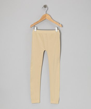 Wheat Leggings - Girls