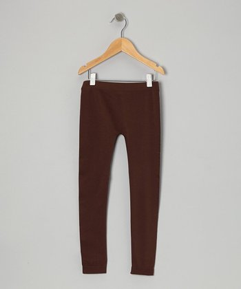 Brown Leggings - Girls
