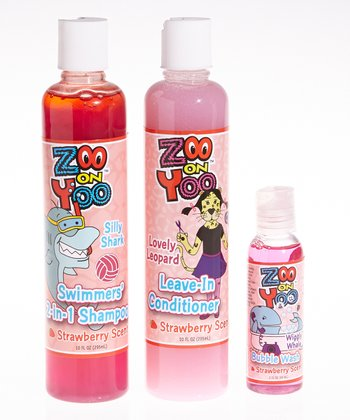 Strawberry haircare & Bath Set