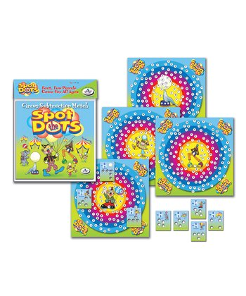 Spot the Dots Subtraction Puzzle Game