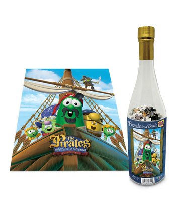 Pirates Puzzle in a Bottle Puzzle