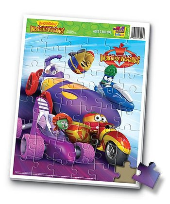 The League of Incredible Vegetables Puzzle