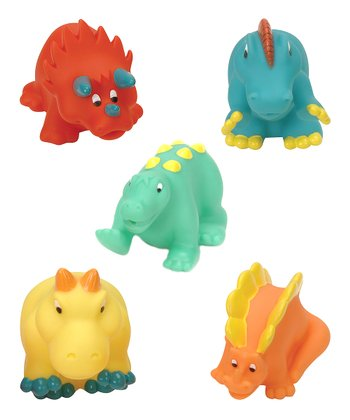 Dino Bath Squirters Set