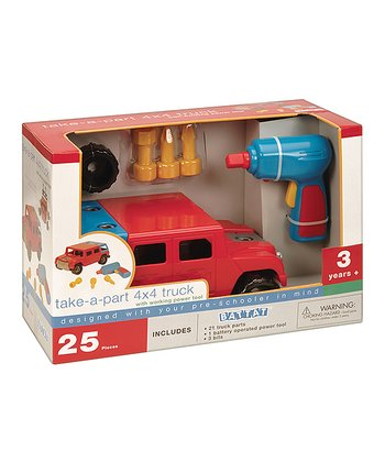 Take-a-Part 4x4 Truck Set