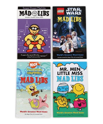 Superstars of Mad Libs Set