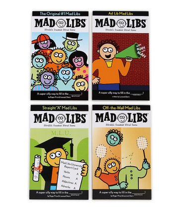Off the Wall Mad Libs Set