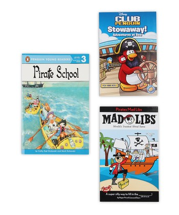 Pirates Mad Libs & Pirate Adventure Paperback Set