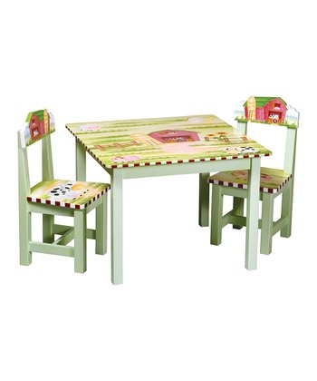 Farmhouse Table & Chair Set