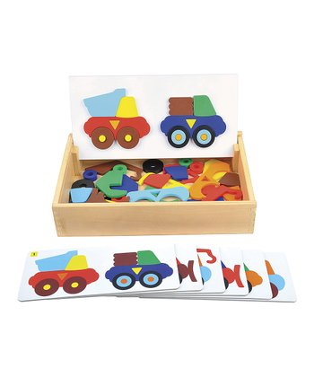Construction Truck Sort & Match Set