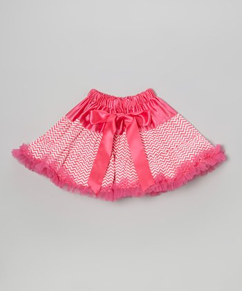 Hot Pink Zigzag Pettiskirt - Infant, Toddler & Girls