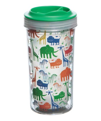 Green 10-Oz. Animals Tumbler - Set of Two
