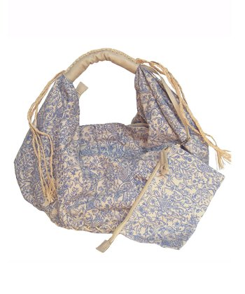 Denim Blue Lily Hobo & Pouch
