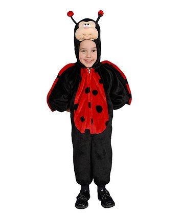 Black & Red Ladybug Dress-Up Outfit - Toddler & Kids