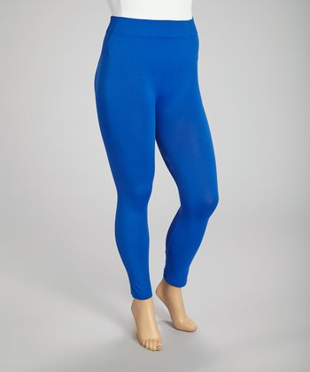 Royal Blue Leggings - Plus