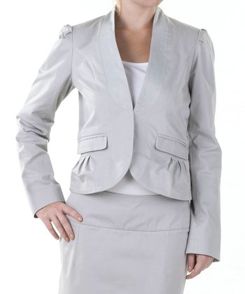 Stone Gray Kirby Blazer - Women & Plus