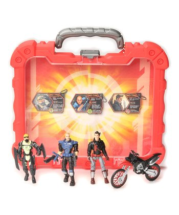 Red Cycle Corps Mission Case Set