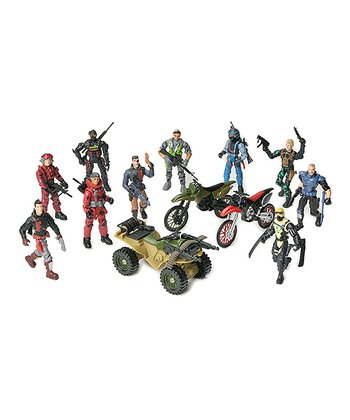 Deluxe Special Forces & Vehicle Corps Figure Set