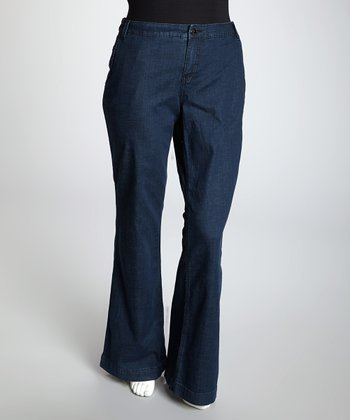 Dark Blue Amsterdam Signature Jeans - Plus