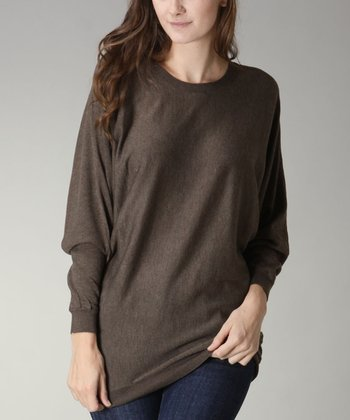 Olive Crewneck Sweater