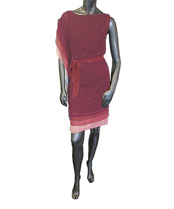 Garnet Belted Dress