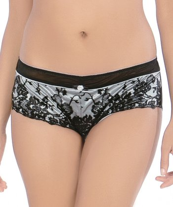 Black & Silver Marilyn Hipster - Women